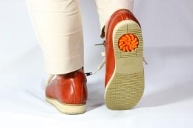 「アサヒメディカルウォーク1645ひざのトラブルを予防する靴!内側ファスナー付き(アサヒシューズ株式会社)」の商品画像