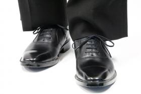 「国産ビジネスシューズ 通勤快足TK33-09 ストレートチップタイプ(アサヒシューズ株式会社)」の商品画像