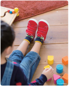 とっても可愛い日本製子供靴、アサヒ健康くん P036の商品画像