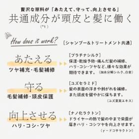 「カオルデイ シャンプーS3 + トリートメントT3 お試しセット(ハルコスメティックス)」の商品画像の4枚目