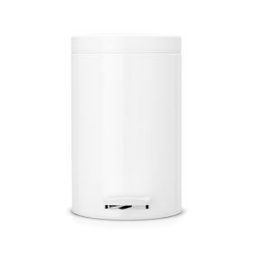 「ペダルビンクラシックタイプ12リットルホワイト(シイノ通商株式会社)」の商品画像