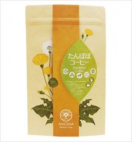 「無農薬栽培のおいしい!AMOMAたんぽぽコーヒー(株式会社ボーダレス・ジャパン(AMOMA))」の商品画像