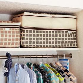「シーズンオフの寝具をひとまとめ 高さを変えられる布団収納ケースの会(株式会社フェリシモ)」の商品画像