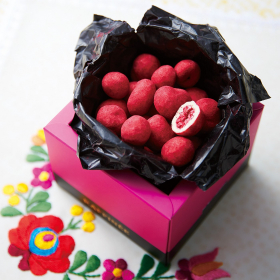 「チョコミー ラズベリーホワイトチョコミー アーモンドブロンド(株式会社フェリシモ)」の商品画像