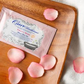 Cureバスタイム フルーティローズの香り ヒマラヤ岩塩バスソルト  20gの商品画像