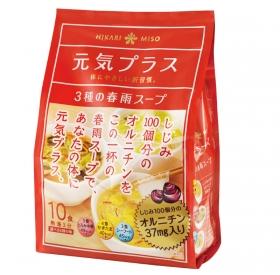 「元気プラス オルニチン入り春雨スープ(ひかり味噌株式会社)」の商品画像