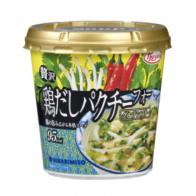 「Pho you 贅沢 鶏だしパクチーフォーカップ(ひかり味噌株式会社)」の商品画像