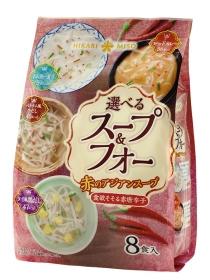 選べるスープ&フォー 赤のアジアンスープ 8食入の口コミ(クチコミ)情報の商品写真