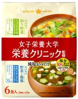女子栄養大学 栄養クリニック監修 減塩みそ汁 6食の商品画像