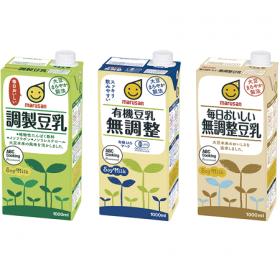 マルサンアイ株式会社の取り扱い商品「マルサンアイ豆乳」の画像