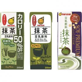 「豆乳飲料 抹茶」飲み比べセットの商品画像