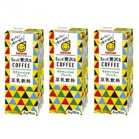 豆乳飲料 ちょっと贅沢なコーヒーキリマンジャロブレンドの商品画像