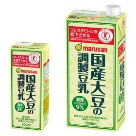 「国産大豆の調製豆乳(マルサンアイ株式会社)」の商品画像