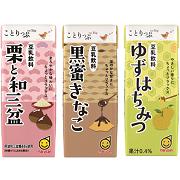 「「ことりっぷ豆乳飲料」シリーズ(マルサンアイ株式会社)」の商品画像