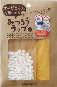 株式会社KAWAGUCHIの取り扱い商品「オーガニックの布でつくる みつろうラップ 」の画像