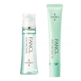 アクネケア 化粧液+ジェル乳液セットの商品画像