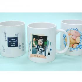 写真入りメッセージマグカップの商品画像