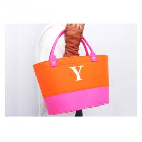 D-fel 刺繍イニシャルバッグの商品画像
