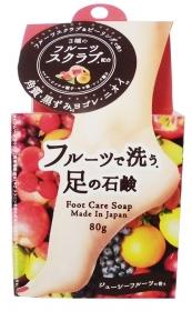 「フルーツで洗う足の石鹸(株式会社ペリカン石鹸)」の商品画像