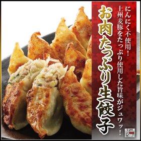 「【餃子工房RON】ニンニクなし・お肉たっぷり生餃子(株式会社アビリティジャパン)」の商品画像