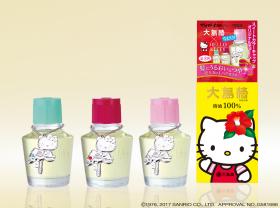 大島椿株式会社の取り扱い商品「ハローキティコラボデザインの「大島椿」」の画像