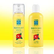 「大島椿 頭皮のためのオイル&頭皮のためのシャンプー(大島椿株式会社)」の商品画像