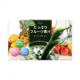株式会社シエルの取り扱い商品「めっちゃたっぷり フルーツ青汁」の画像