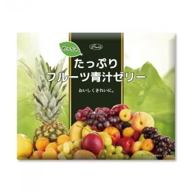 「めっちゃたっぷり フルーツ青汁ゼリー(株式会社シエル)」の商品画像