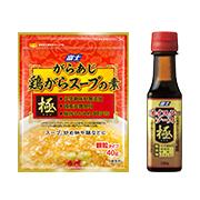 「オイスターソース極&がらあじ極(きわみ)鶏がらスープの素(富士食品工業株式会社)」の商品画像