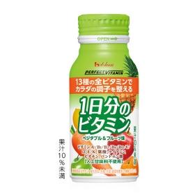 「ドリンクタイプ 1日分のビタミン(ベジタブル&フルーツ味)(ハウスウェルネスフーズ株式会社)」の商品画像