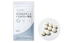 日本予防医薬株式会社の取り扱い商品「コンドロイチンA +リカバリー酵母 240粒」の画像