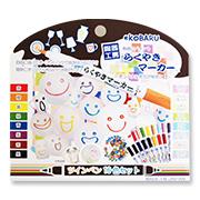 「らくやきマーカー16色セット(株式会社リンレイ)」の商品画像