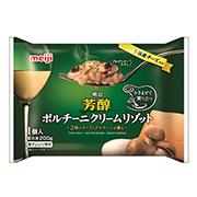 「明治 芳醇ポルチーニクリームリゾット(株式会社明治)」の商品画像の1枚目