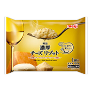 「明治 濃厚チーズリゾット(株式会社明治)」の商品画像