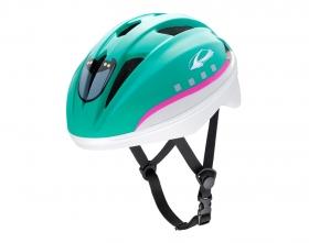 アイデスの取り扱い商品「キッズヘルメットS新幹線E5系はやぶさ」の画像