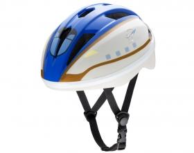 アイデスの取り扱い商品「キッズヘルメットS新幹線E7系かがやき」の画像