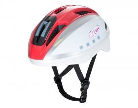 アイデスの取り扱い商品「キッズヘルメットS新幹線E6系こまち」の画像