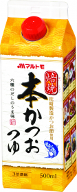 マルトモ株式会社の取り扱い商品「焙焼本かつおつゆ500ml」の画像