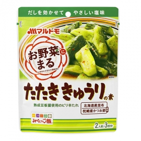 「「お野菜まる(R)」たたききゅうりのたれ(マルトモ株式会社)」の商品画像
