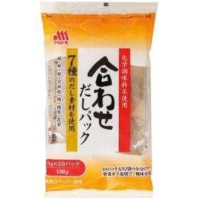 「合わせだしパック 9g×10×2袋(マルトモ株式会社)」の商品画像
