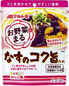 「「お野菜まる(R)」なすのコク旨たれ(マルトモ株式会社)」の商品画像