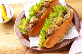 「「お肉まる(R)」豚の生姜焼きの素(マルトモ株式会社)」の商品画像の3枚目