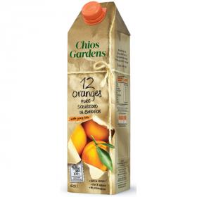 「キオス・ガーデンズ 100%ストレートオレンジジュース(富士貿易株式会社)」の商品画像