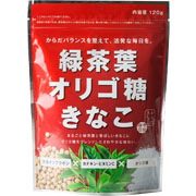 「緑茶葉オリゴ糖きなこ(120g)(幸田商店)」の商品画像