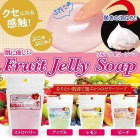 ♪ぷるぷる洗顔♪ フルーツゼリーソープの商品画像