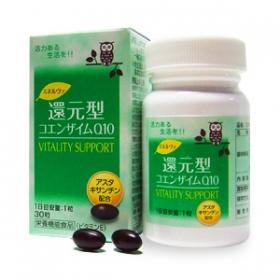 「ミネルヴァ 還元型コエンザイムQ10(京都薬品ヘルスケア株式会社)」の商品画像