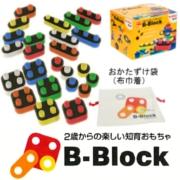 静岡発!子育て応援♪知育玩具「B-Block」 ちゃれんじブロック24個セットの商品画像