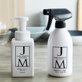 「JAMES MARTIN 【特別お試しセット】 薬用泡ハンドソープ&除菌用アルコ(アンジェ web shop)」の商品画像