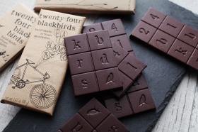 twenty-four blackbirds chocolateチョコレートバーの商品画像