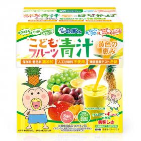 「野菜と乳酸菌のチカラたっぷり!こどもフルーツ青汁 黄色の恵(有限会社ルーティ)」の商品画像